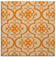 rug #384101 | square orange popular rug