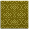 rug #384105 | square light-green rug