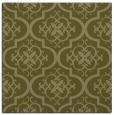 rug #384117 | square light-green traditional rug