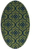 rug #384174 | oval popular rug