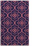rug #384581    blue-violet traditional rug