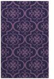 rug #384585 |  purple traditional rug