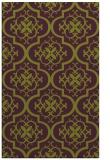 rug #384717 |  purple traditional rug