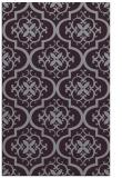 rug #384725 |  purple traditional rug