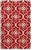rug #384729 |  red traditional rug