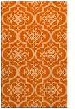 rug #384749 |  red-orange traditional rug