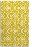 rug #384789 |  yellow traditional rug