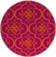 rug #385107   round traditional rug