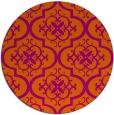 rug #385108   round traditional rug