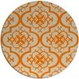 rug #385157 | round beige traditional rug