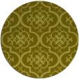 rug #385161 | round light-green rug