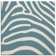 rug #387329 | square blue-green animal rug