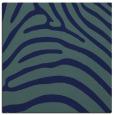 rug #387337 | square blue-green animal rug