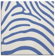 rug #387345 | square blue stripes rug