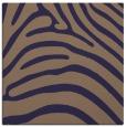 rug #387413 | square blue-violet animal rug
