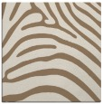 rug #387457 | square beige animal rug