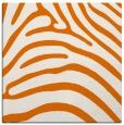 rug #387497 | square orange animal rug
