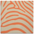 rug #387501 | square orange animal rug