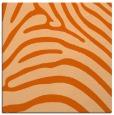 rug #387565 | square red-orange animal rug