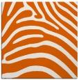 rug #387573 | square red-orange animal rug