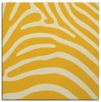 rug #387593 | square yellow animal rug