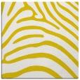 rug #387605 | square yellow stripes rug