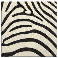 rug #387613   square black animal rug