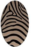 rug #387669 | oval beige popular rug