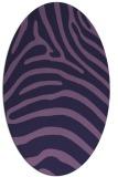 rug #387754 | oval animal rug
