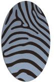 rug #387771 | oval stripes rug