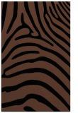 rug #388025 |  black stripes rug