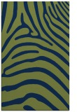 rug #388045 |  green stripes rug