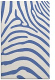 rug #388049 |  blue stripes rug