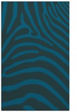 rug #388089 |  blue animal rug