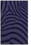 rug #388093 |  blue-violet stripes rug