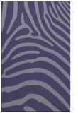 rug #388097 |  blue-violet animal rug