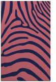 rug #388101 |  blue-violet animal rug