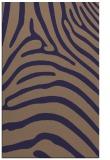 rug #388117    blue-violet animal rug