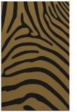 rug #388125 |  mid-brown stripes rug