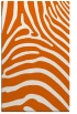 rug #388277 |  red-orange stripes rug