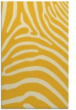 rug #388297 |  yellow stripes rug