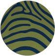 rug #388397 | round blue rug