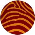 rug #388551 | round stripes rug