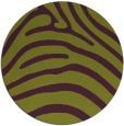 rug #388589 | round green rug