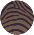 rug #388593   round purple stripes rug