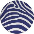 rug #388641 | round blue animal rug