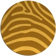 rug #388665 | round light-orange animal rug