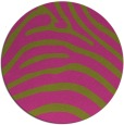 rug #388689 | round light-green rug