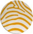 rug #388697 | round light-orange animal rug