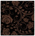 rug #389081 | square brown natural rug